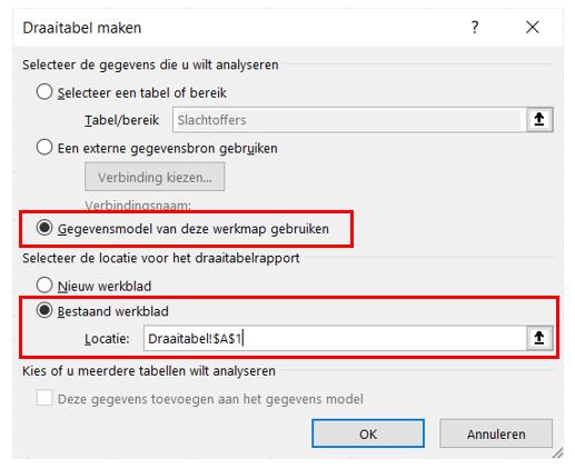 12. Maak draaitabel volgende stap - Draaitabel maken Excel - IPro Training NL