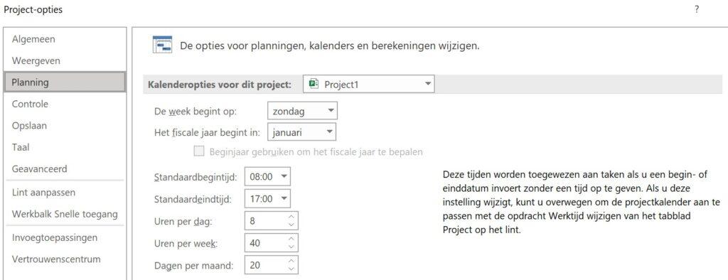 Microsoft Project Tip 3 van IPro Training NL